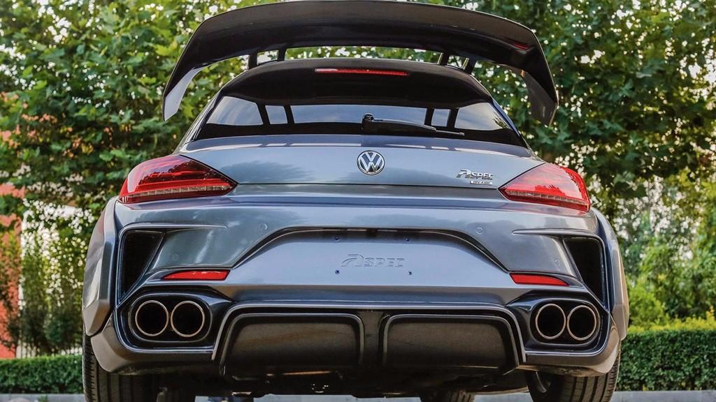 Volkswagen Scirocco R PPJ430 por Aspec: Una de las preparaciones más radicales 12