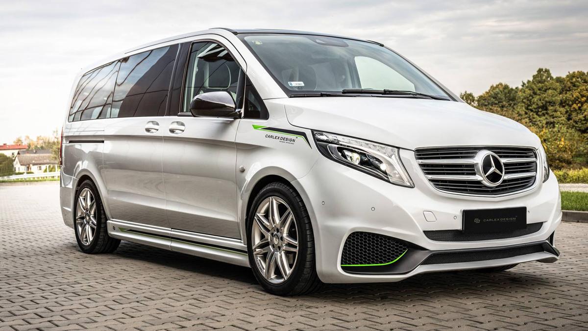 Connu Carlex Design convierte tu Mercedes Clase V en algo menos discreto OK35