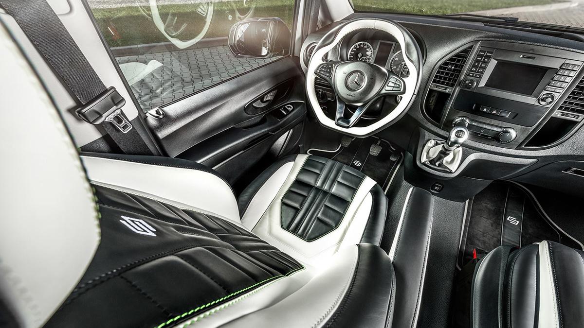 Calex Design convierte tu Mercedes Clase V en algo menos discreto 3