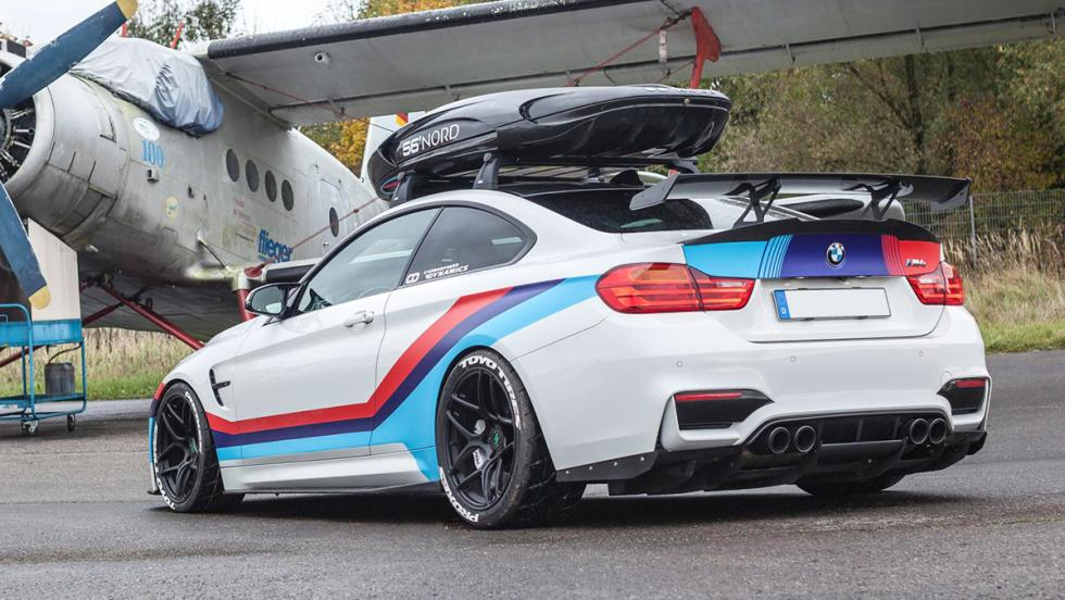 Carbonfiber Dynamics M4R: El BMW M4 de 710 CV con escape Akrapovic y cofre en el techo 5