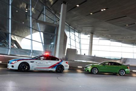 El BMW M4 M Performance de Marco Wittmann es tan llamativo como imponente
