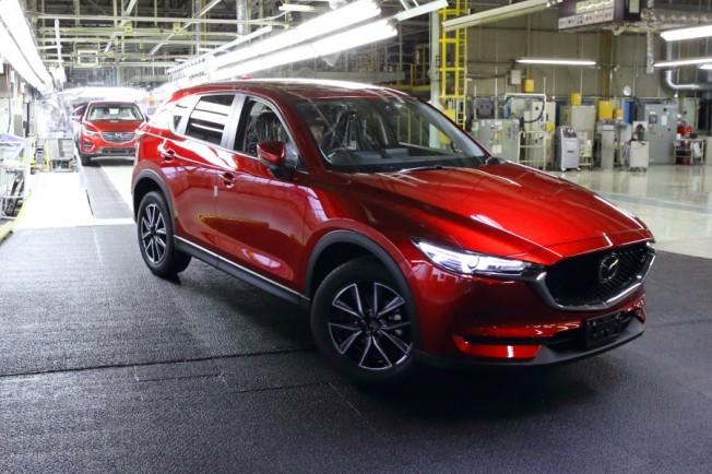 El Mazda CX-5 2017 inicia su producción en Japón: Veremos las primeras unidades en Febrero de 2017 2