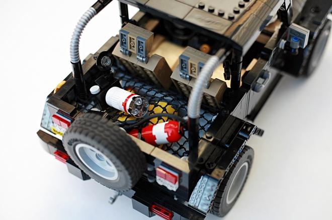 Jeep Wrangler Rubicon de LEGO: Con todo lujo de detalles 1