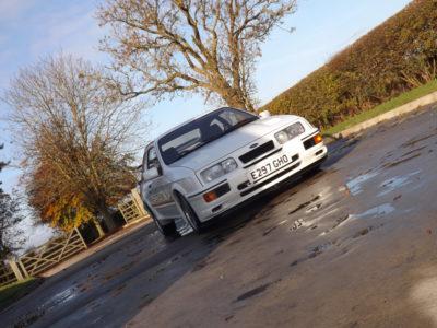 Sale a subasta un Ford Sierra Cosworth RS500: ¿Cuánto estarías dispuesto a pagar por él?