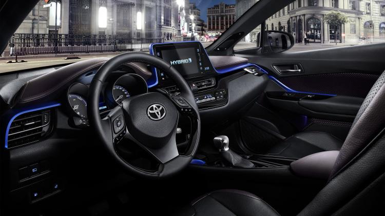 Toyota C-HR: El SUV híbrido inicia su comercialización masiva 1