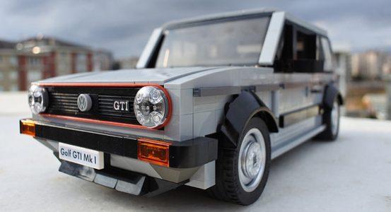 Volkswagen Golf GTI Mk1 por LEGO: Devolviendo a la vida el desencadenante de la saga