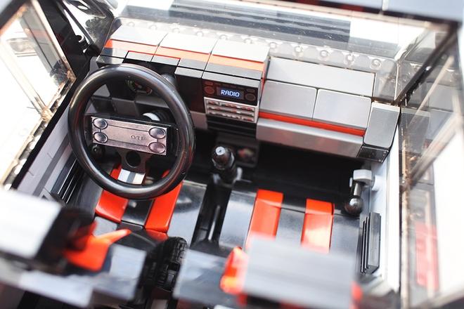Volkswagen Golf GTI Mk1 por LEGO: Devolviendo a la vida el desencadenante de la saga 1