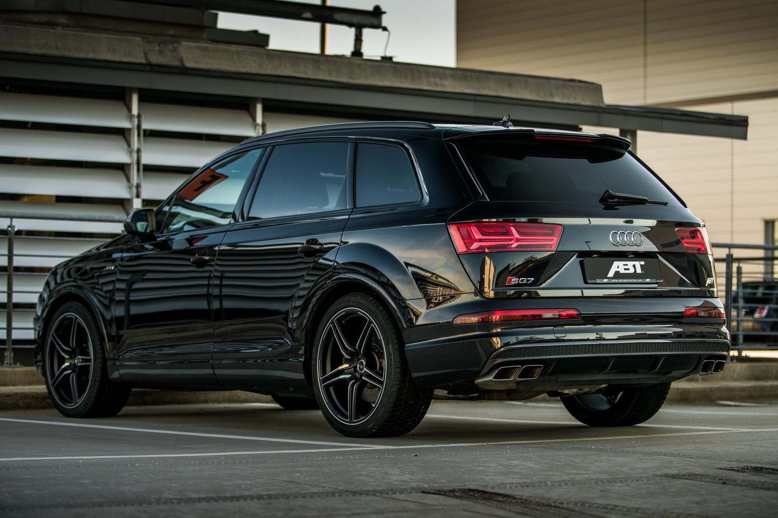 ABT Audi SQ7: ¡Aún más bruto con 520 CV y 970 Nm de par!