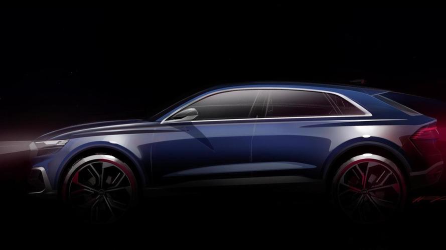 Audi Q8 E-Tron Concept, primeros bocetos oficiales