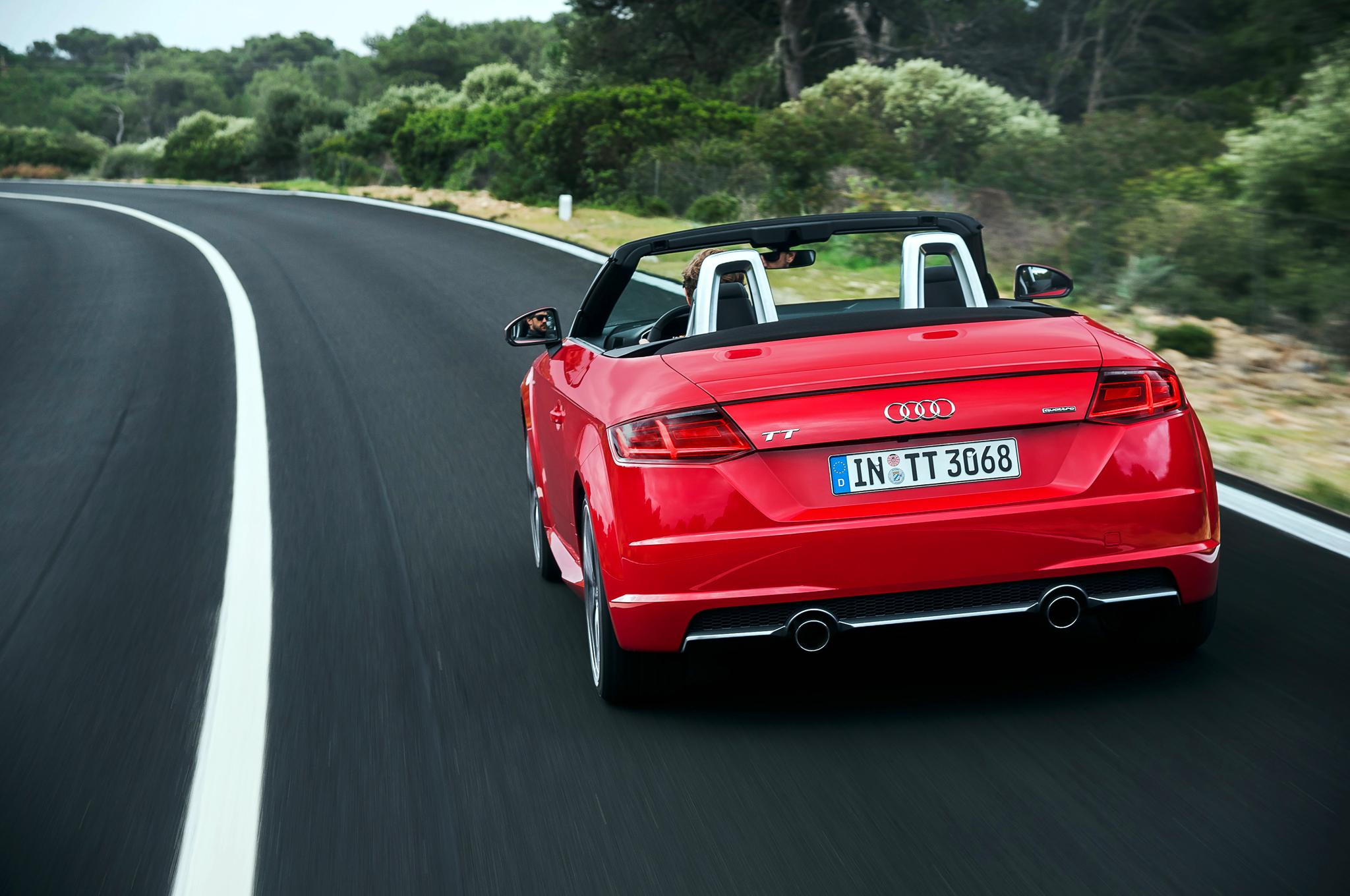 Audi TT 2.0 TDI quattro: Llega la tracción total al motor diésel de 184 CV