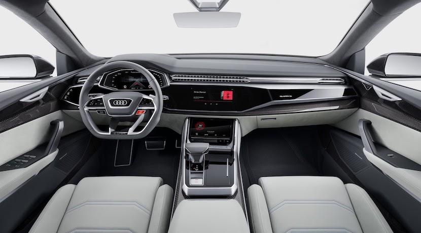 Audi Q8 Concept: El lujoso SUV híbrido alemán cargado de tecnología