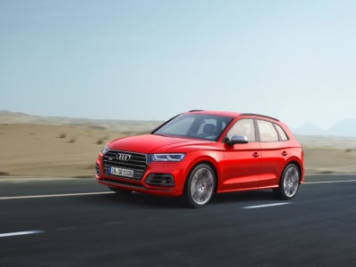 Audi SQ5 2017: Llega el Q5 más potente con 354 CV... ¡y es gasolina!