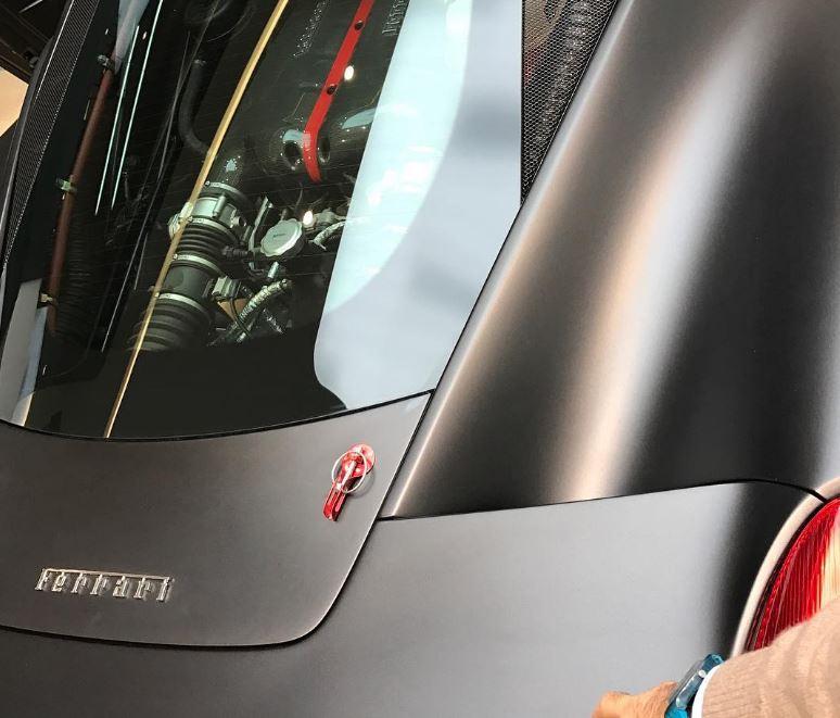 Ferrari anticipa un misterioso modelo V12, ¿trasplante al 488 GTB?