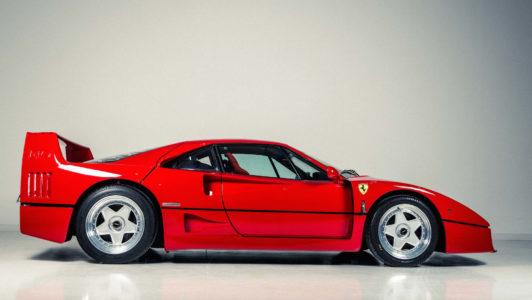 ¿Tienes 1,02 millones de euros? Entonces comprar el Ferrari F40 de Eric Clapton puede ser tu opción