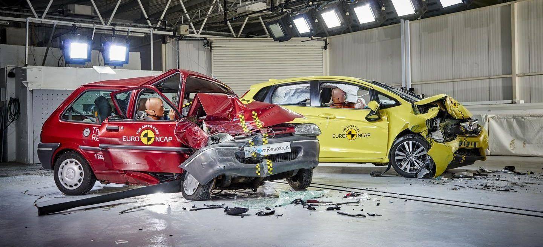 20 años de crash test de EuroNCAP: ¿Cuánto ha avanzado la seguridad en los coches?