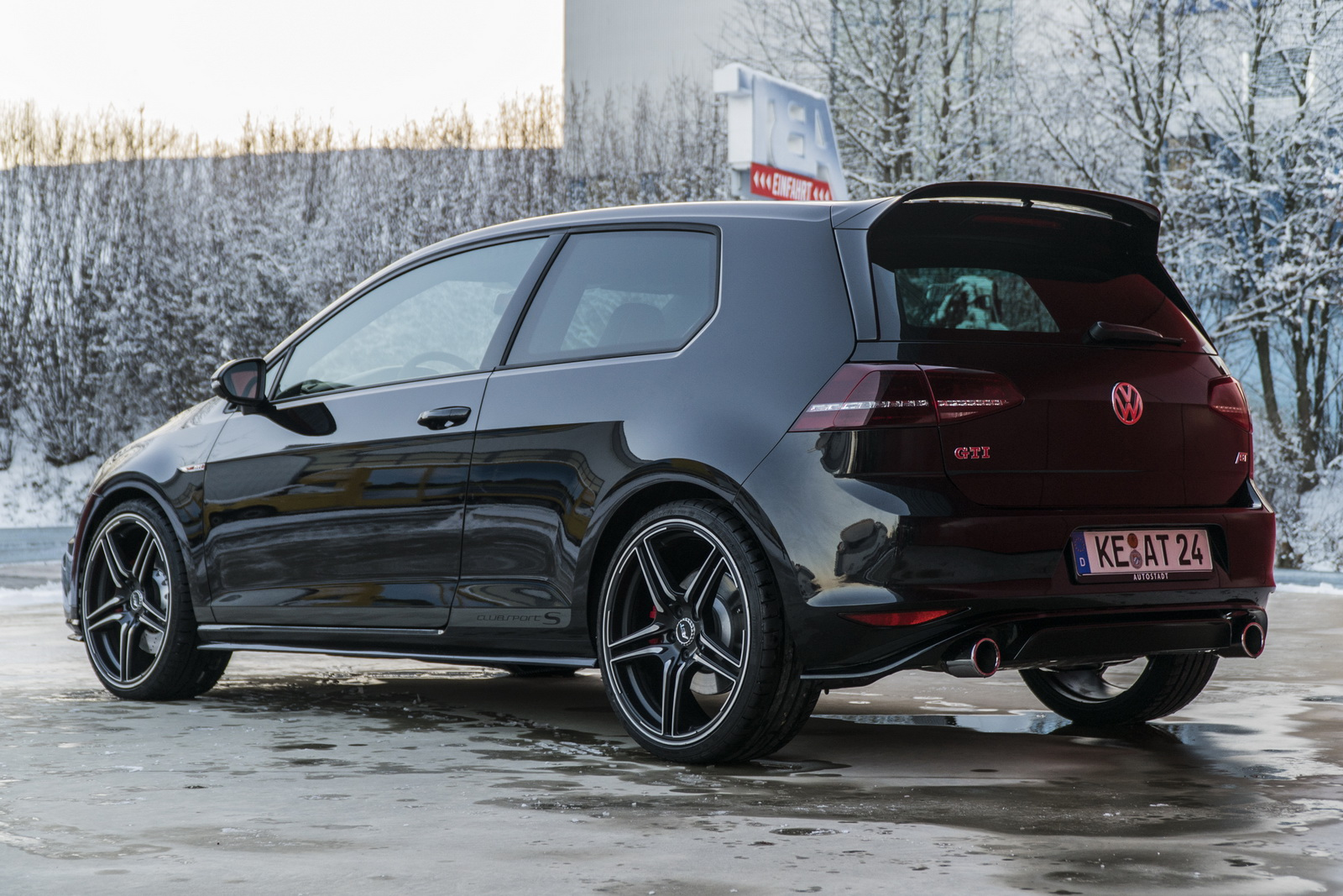 370 CV son posibles en el Volkswagen Golf GTI Clubsport S gracias a ABT