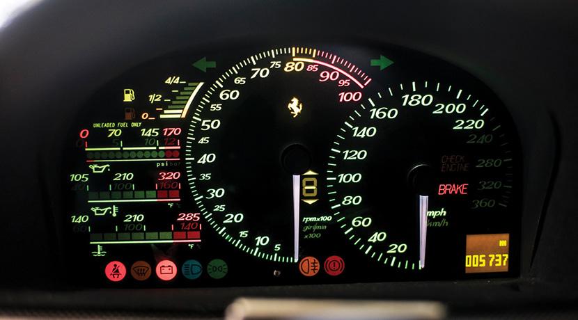 El Ferrari F50 de Mike Tyson sale a subasta: ¡Necesitarás entre 2 y 2,3 millones de euros para hacerte con él!