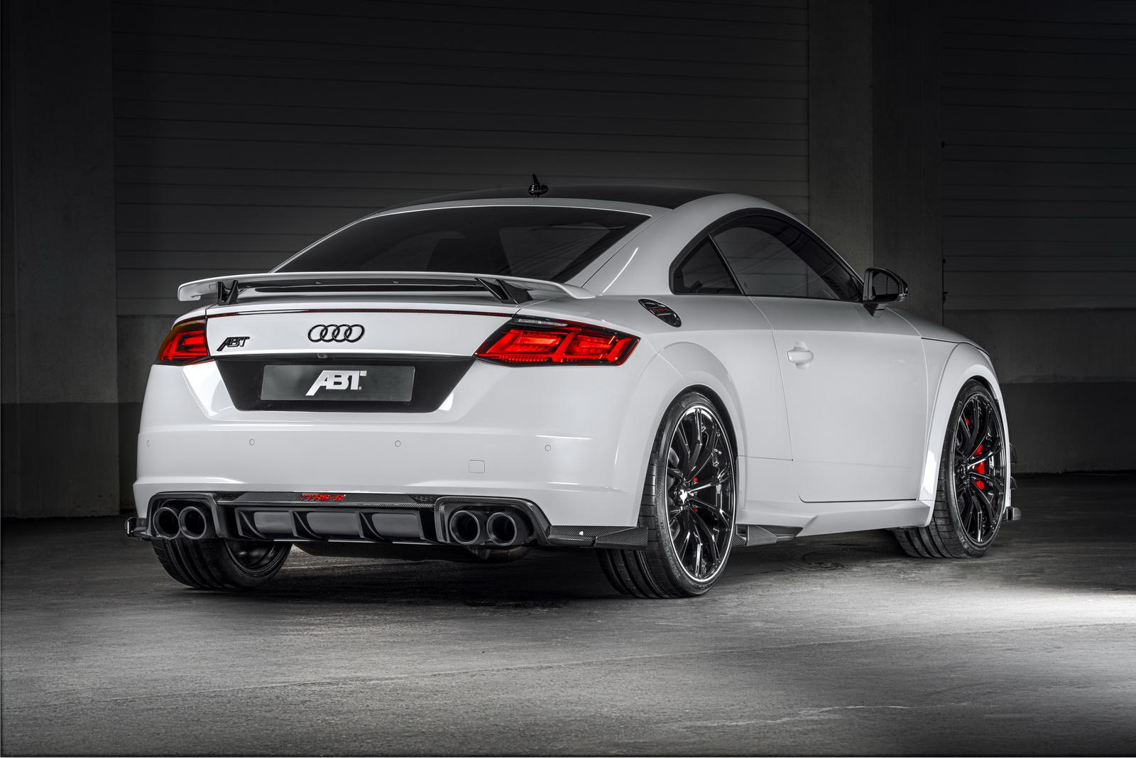 ¿Es un avión? ¿es un pájaro? ¡Es el ABT Audi TT RS-R con 500 CV de potencia!