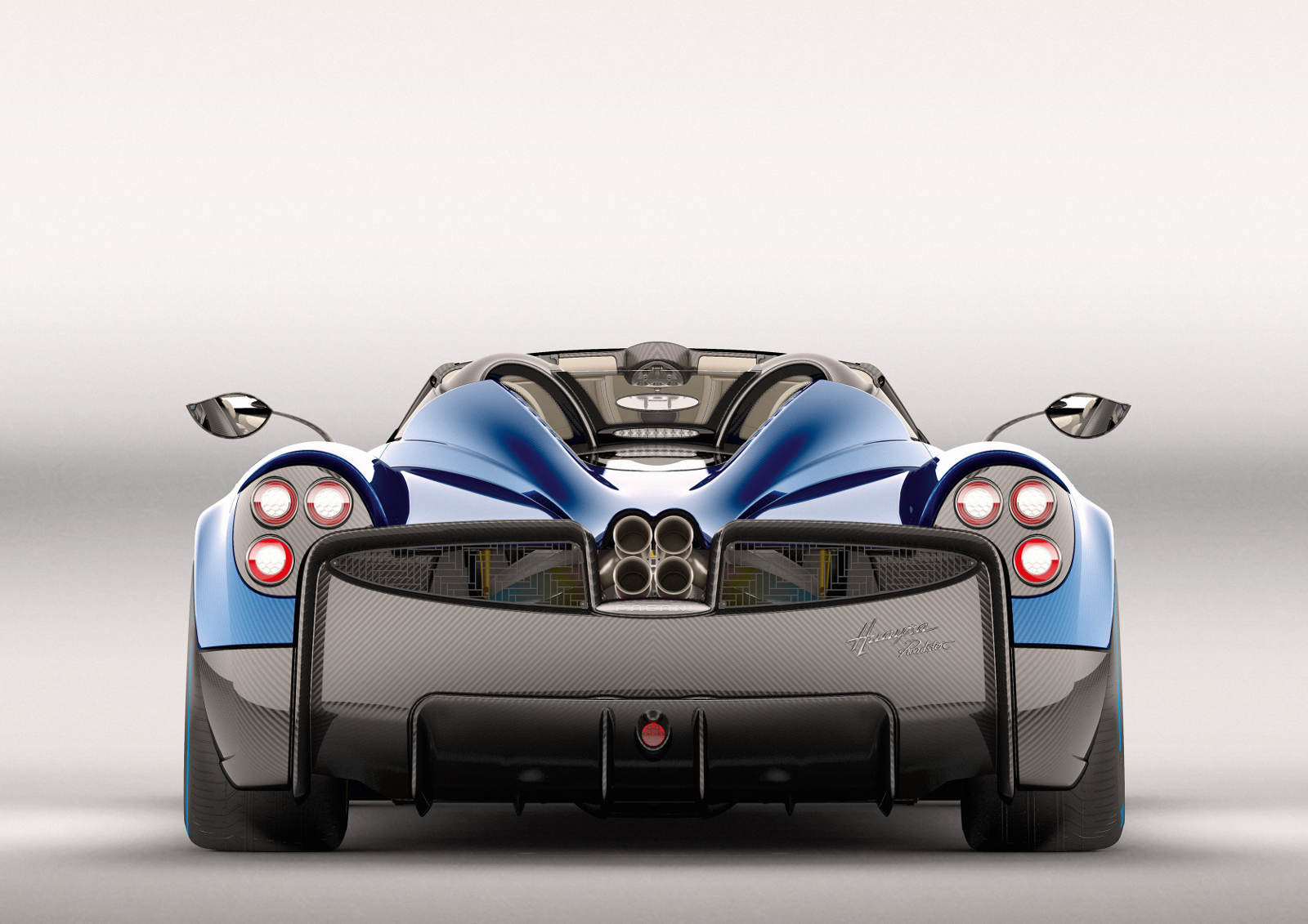 Oficial: Pagani Huayra Roadster, 764 caballos y solo 100 unidades