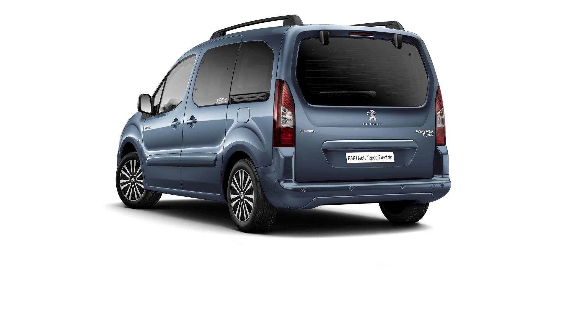 Peugeot Partner Tepee Electric 2017: Llega la versión eléctrica de la furgoneta con 170 km de autonomía