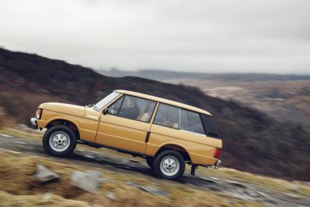 Range Rover Reborn: ¿Estás dispuesto a pagar casi 160.000 euros por un Range Rover de los 70 restaurado?