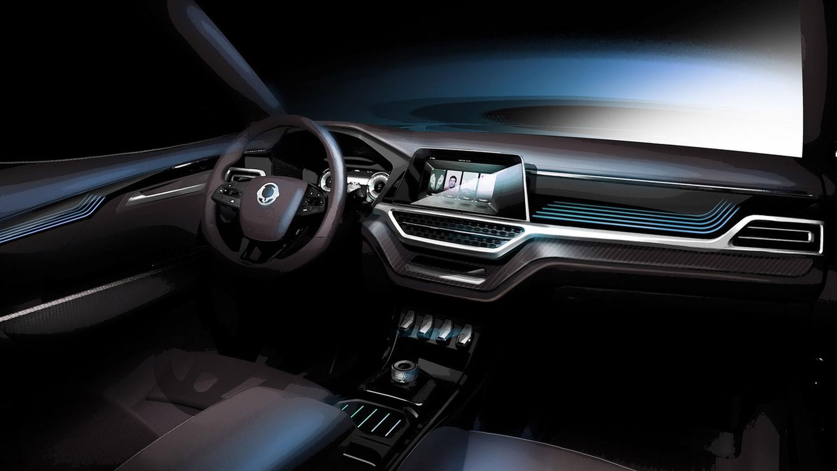 SsangYong XAVL Concept: El preludio del SUV de siete plazas que veremos en Ginebra