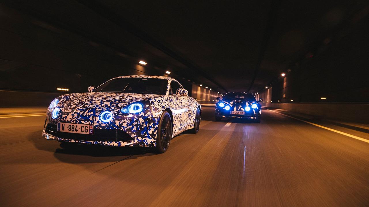 Una noche en París con el nuevo Alpine A120