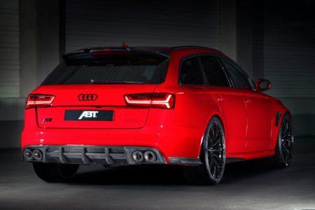 ABT RS6+: Ahora de color rojo y con 700 CV... ¡corre, que se acaban!