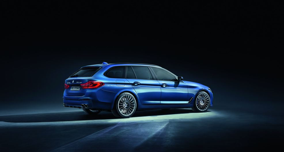 Alpina B5 Bi-Turbo: berlina y familiar de 600 caballos