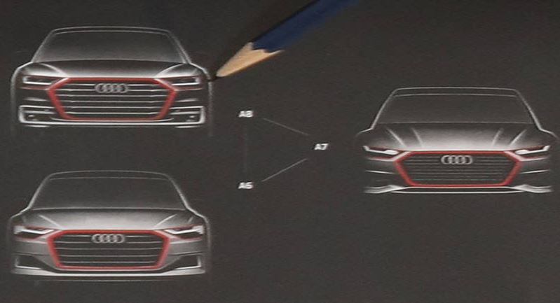 Así es el perfil del nuevo Audi A7 Sportback, ¡debuta esta semana!