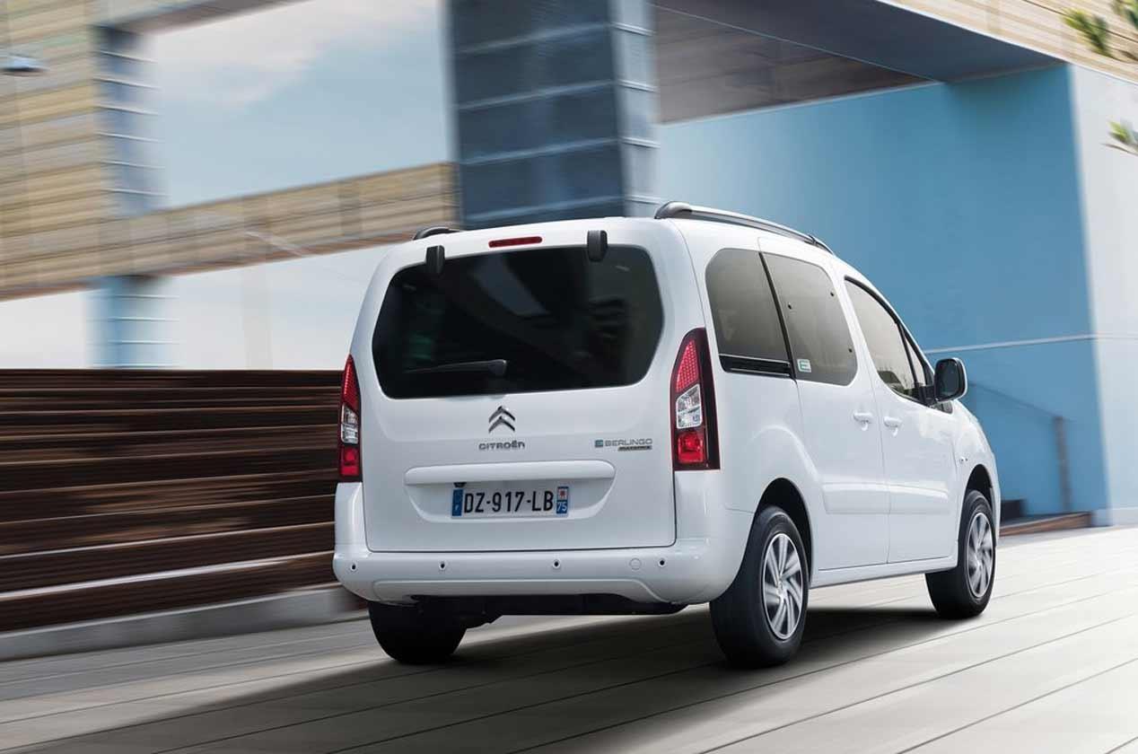 Citroën E-Berlingo Multispace 2017: La versión eléctrica con hasta 170 kilómetros de autonomía