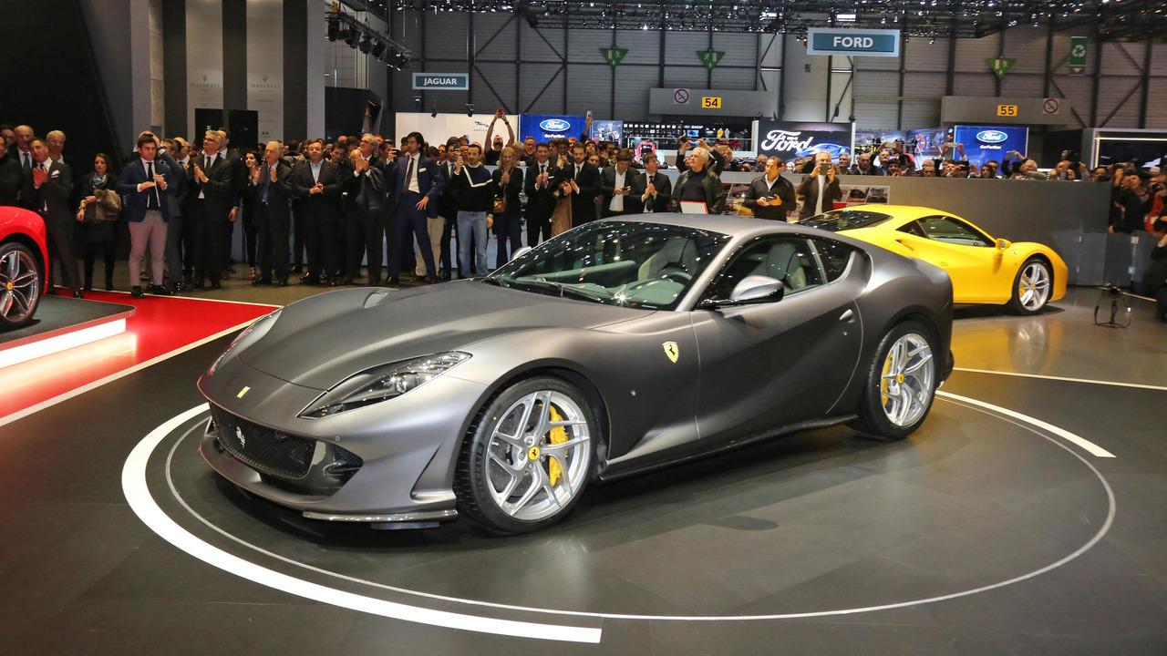 El Ferrari 812 Superfast debuta en Ginebra como el Cavallino atmosférico más potente de la historia