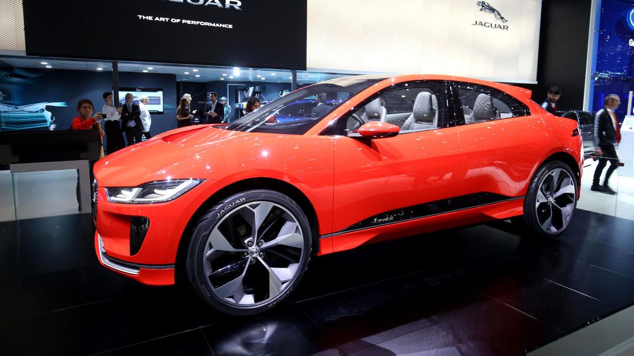 El Jaguar I-Pace Concept destaca en Ginebra