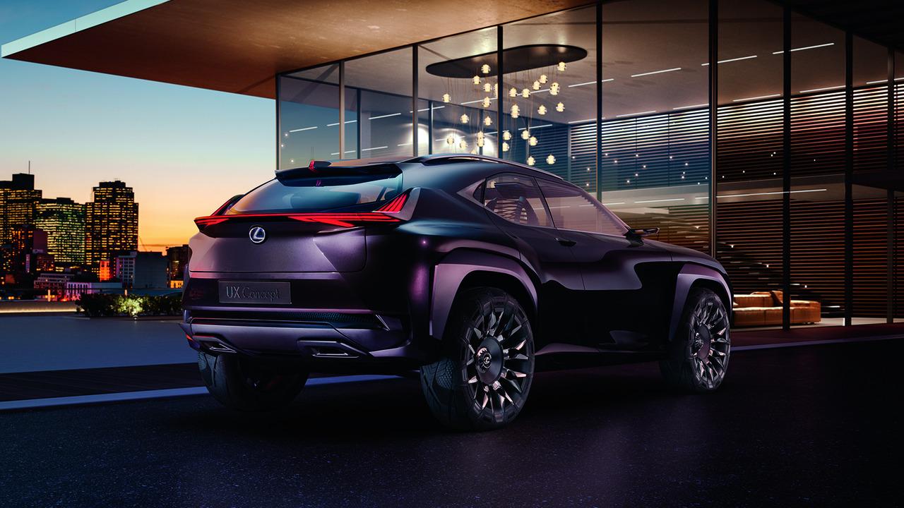 Lexus da luz verde al UX Concept, el b-SUV nipón