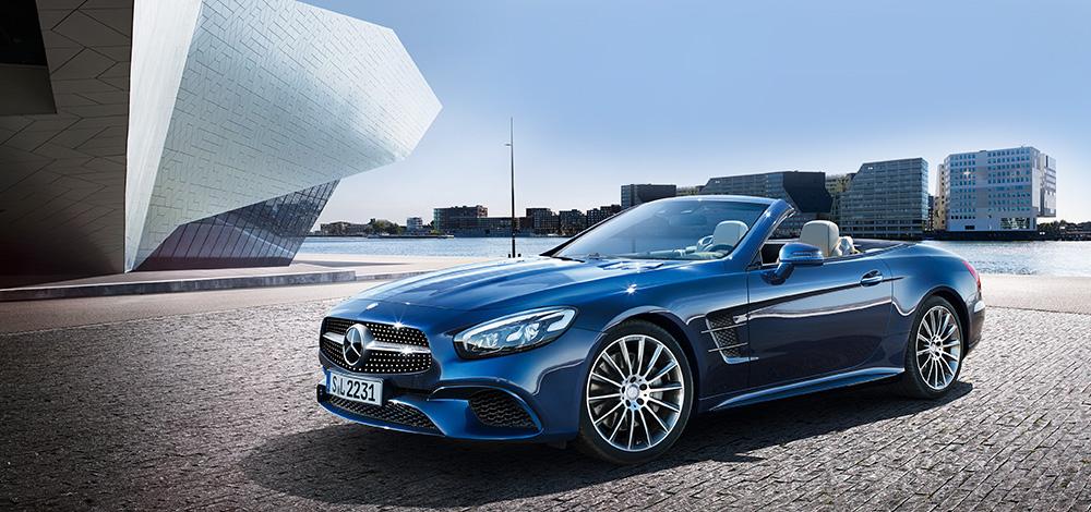 Más cerca del nuevo Mercedes SL: más ligero, potente y con techo de lona