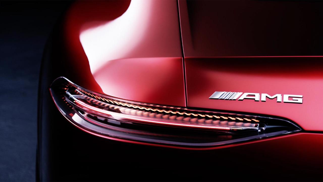 Más imágenes oficiales del Mercedes-AMG GT Concept