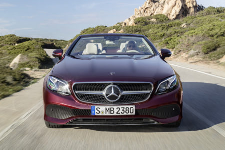 Mercedes Clase E Cabrio 2017: Ya están todos en la gama...
