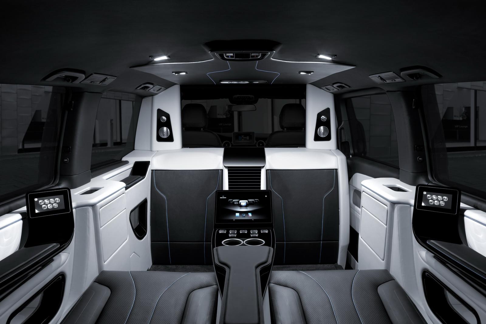 Mercedes Clase V por Brabus: Para viajar en primera clase con una amplitud sin parangón