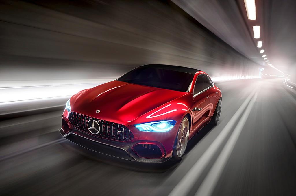 Más cerca del próximo Mercedes AMG GT Sedán