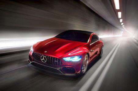 ¡Oficial! Mercedes AMG GT Concept, berlina y deportivo van de la mano