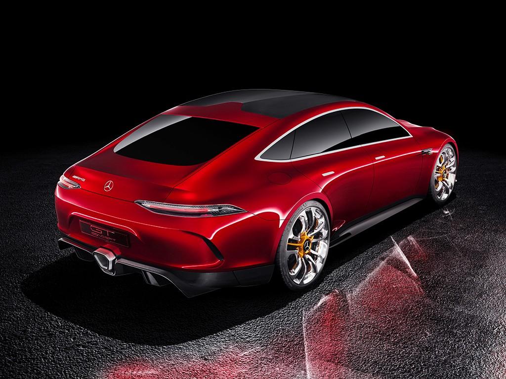 El Mercedes AMG GT Concept llegará al mercado, y será híbrido