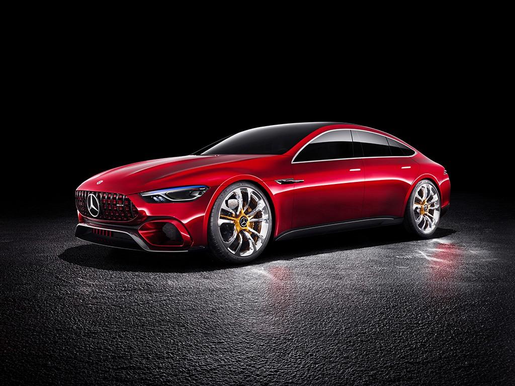 Mercedes dará alas al AMG GT de cuatro puertas: tendrá 800 caballos