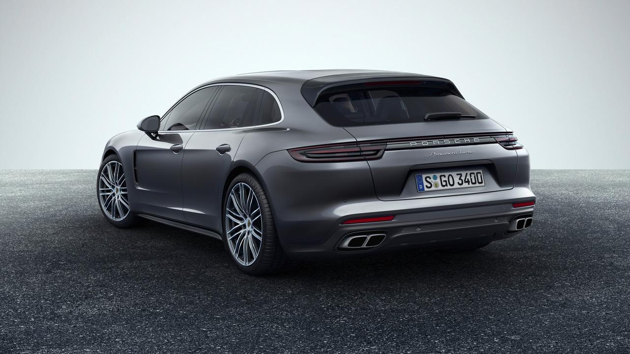 Porsche Panamera Sport Turismo, primeras imágenes y datos oficiales
