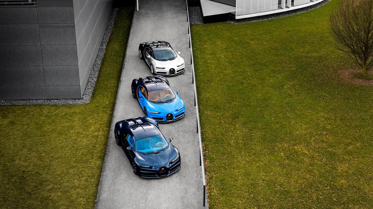 Salen de fábrica las primeras unidades del Bugatti Chiron