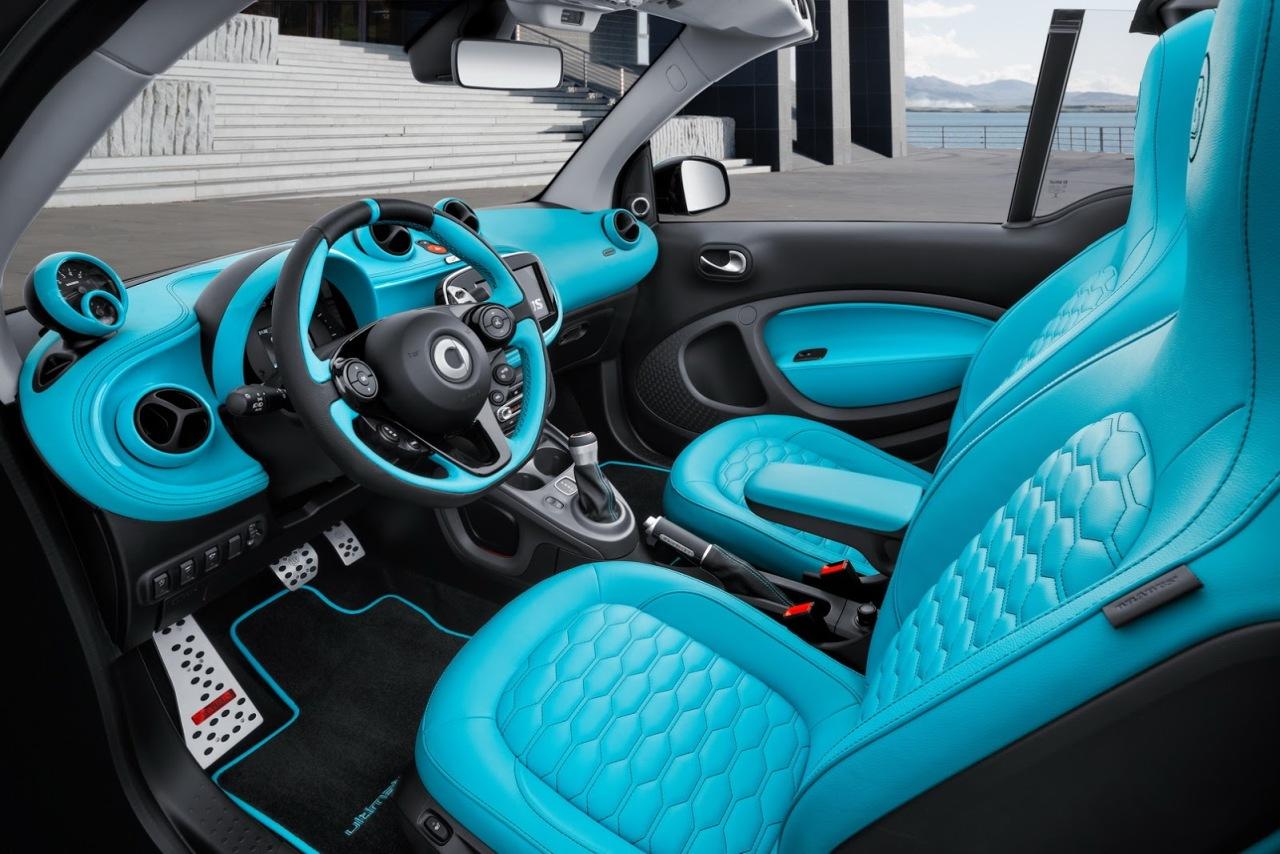 Smart Brabus Ultimate 125: ¿Te gastarías 49.980 euros en un fortwo?