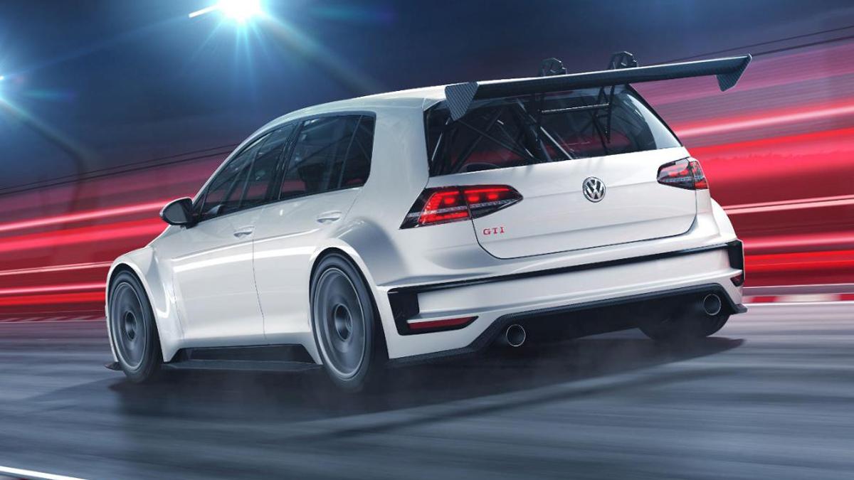 Volkswagen Golf GTI TCR 2017: El Golf de carreras más bruto