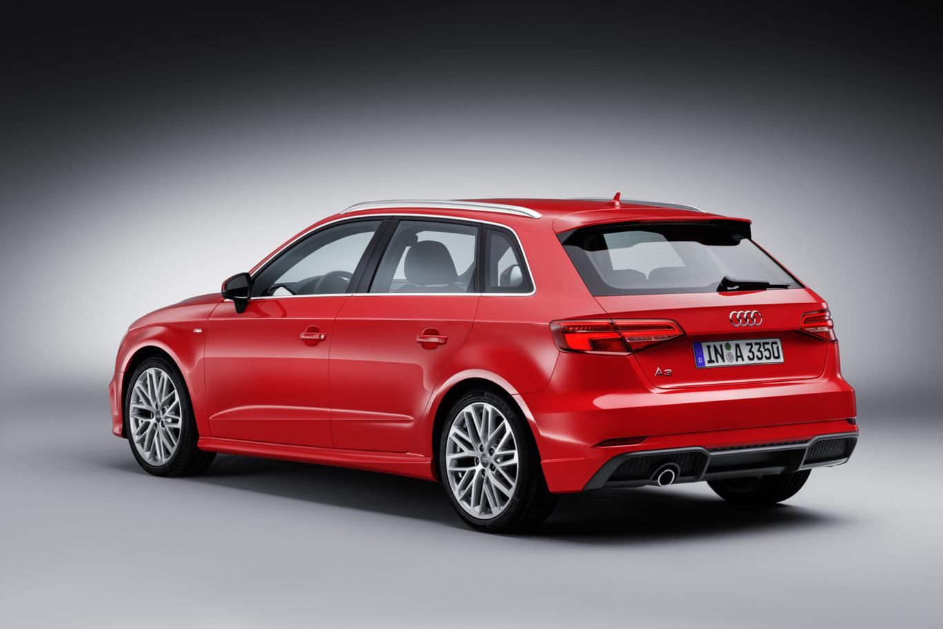 Audi lanzaría la cuarta generación del A3 en 2019: Con sistema eléctrico de 48 voltios y una posible variante Coupé