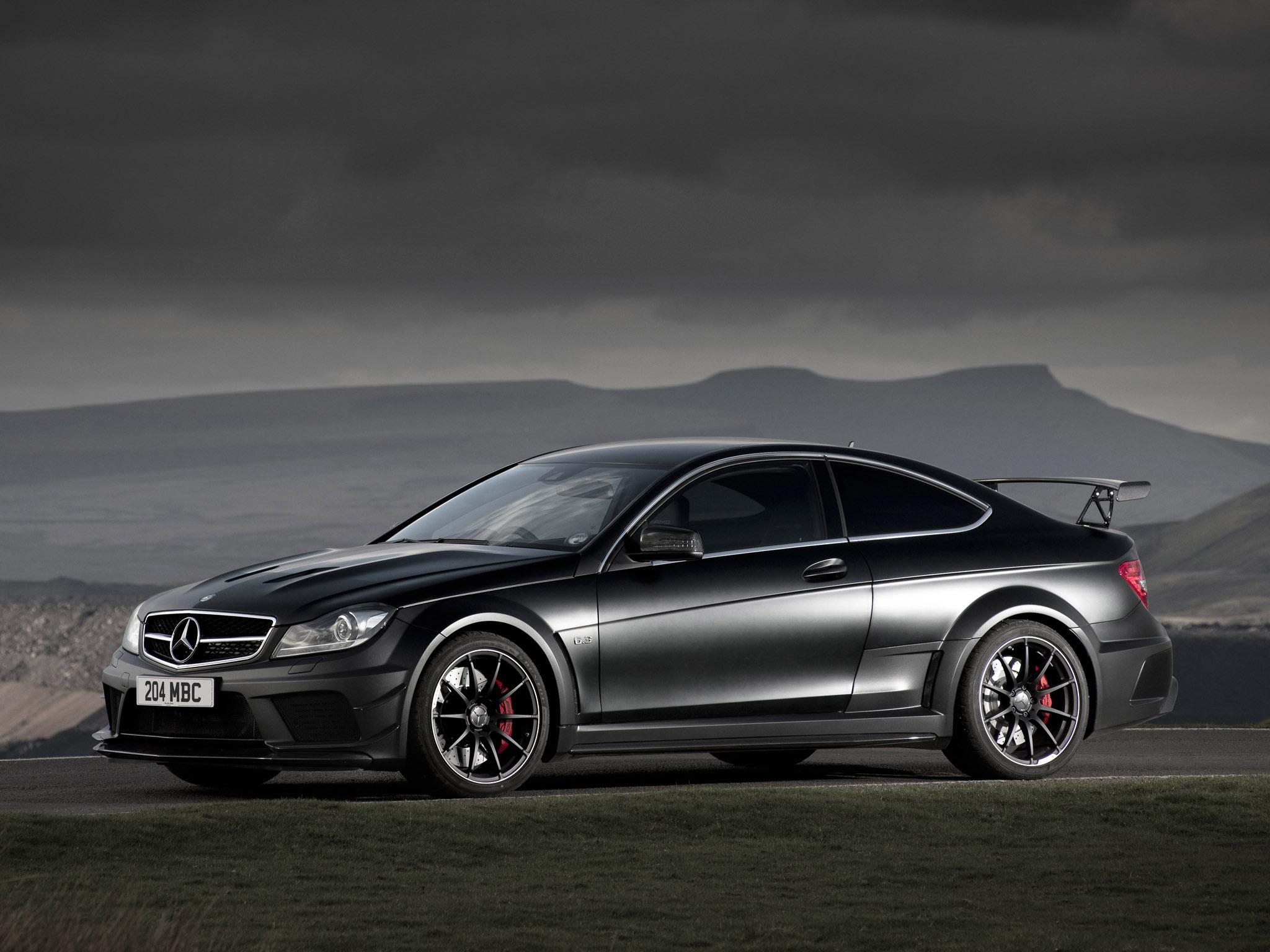 El Mercedes-AMG C 63 Coupé Black Series queda en el aire, pero por una buena causa