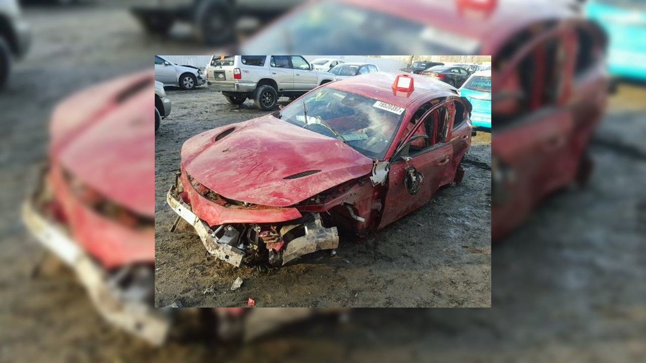 El primer Alfa Romeo Giulia accidentado llega desde Estados Unidos