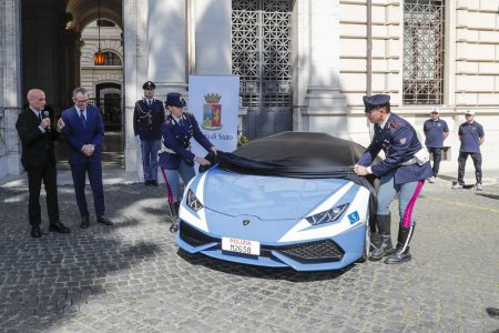 La policía italiana estrena nueva montura: ¡Un nuevo Lamborghini Huracán!